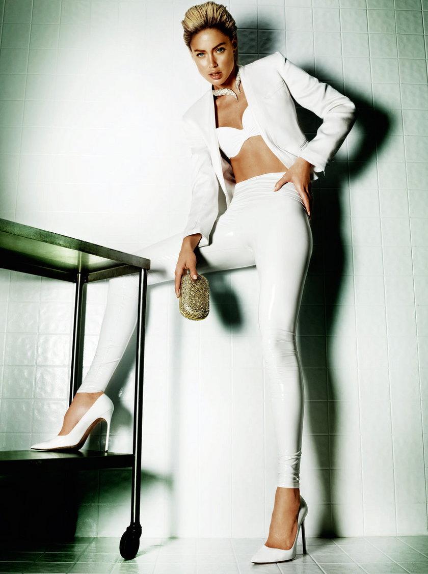 "Doutzen Kroes w ""Vogue Brazil"" czerwiec 2013"