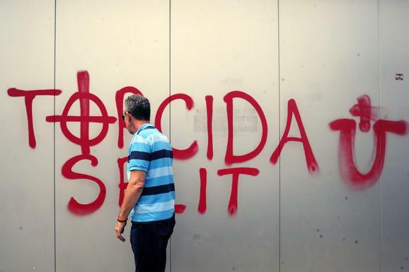 Huligani iz Hrvatske pohapšeni u Srbiji