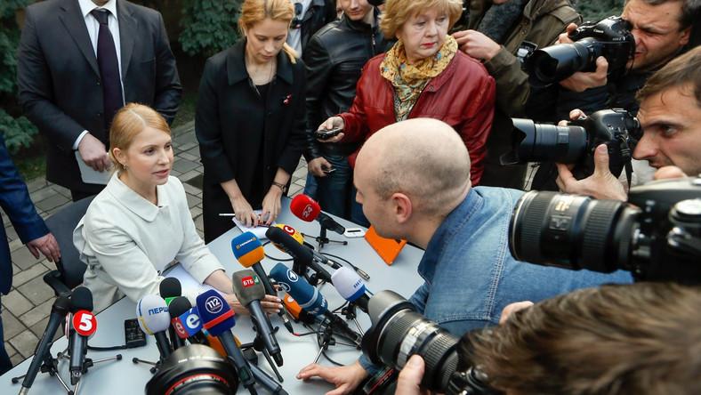 Tymoszenko oficjalną kandydatką do prezydenckiego fotela na Ukrainie