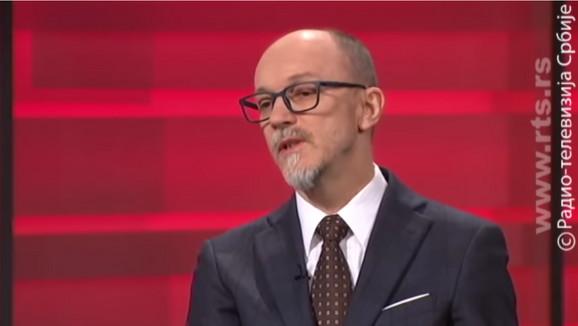 Goran Trivan na RTS, emisija