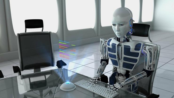 robot kancelarija