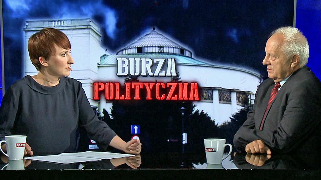Burza polityczna. Stefan Niesiołowski