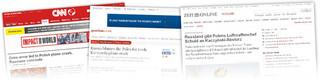 Światowe media o raporcie MAK dotyczącym przyczyn katastrofy smoleńskiej