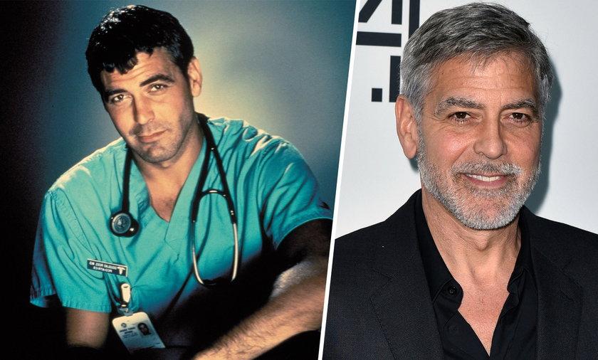 George Clooney skończył 60 lat. Aktor bardzo się zmienił od czasów swojego debiutu