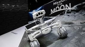 Łazik Audi gotowy do wyprawy na Księżyc