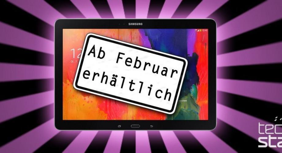 Samsung Galaxy TabPRO & NotePRO ab Februar erhältlich
