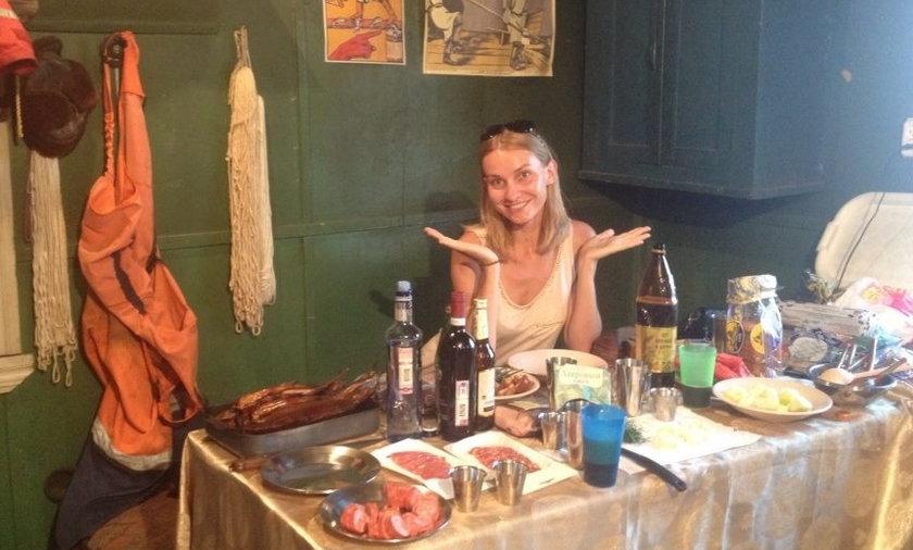 Joanna Moro jest już w Rosji