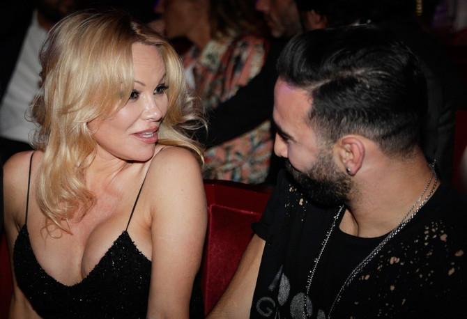 Pamela Anderson i Adil Rami u danima ljubavi