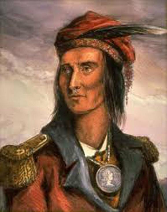 Čuveni indijanski vladar Tekumseh