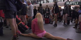 Dzień bez spodni w londyńskim metrze