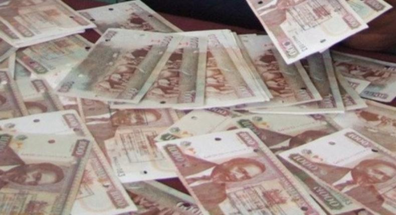 File image of fake Kenyan currency notes
