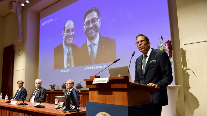 David Julius i Ardem Patapoutian. Laureaci nagrody Nobla z medycyny i fizjologii