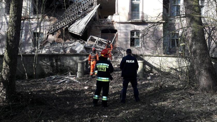 W Rudniku zawalił się opuszczony pałacyk