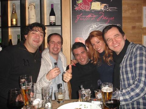 Nenad Jezdić sa Željkom Joksimovićem dočekao 2013.! FOTO