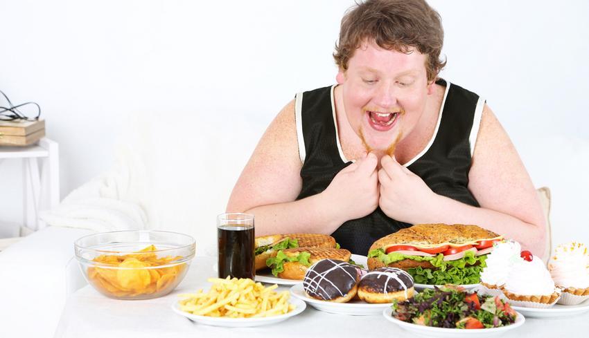 amikor sokat eszik de lefogy
