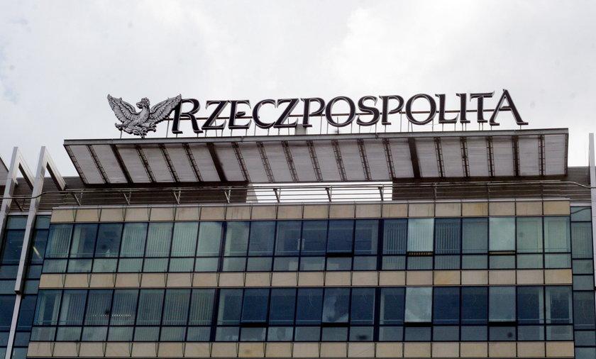 """Komornik zwolnił większość zajętego majątku wydawcy """"Rzeczpospolitej"""""""