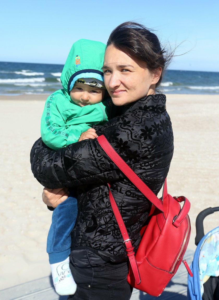 Jagoda Cwalina (32 l.) z Gdańska, mama Adasia (1 r.):