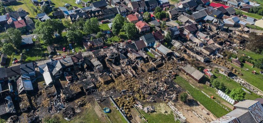 Koszmarny pożar w Nowej Białej! Zobacz skalę zniszczeń [ZDJĘCIA]