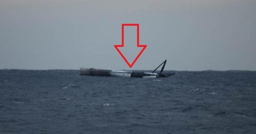 Falcon 9 zakończył misję w Atlantyku