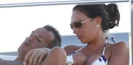 Córka milionera z narzeczonym. Foto