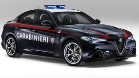 Alfa Romeo Giulia Quadrifoglio - moc w służbie prawa