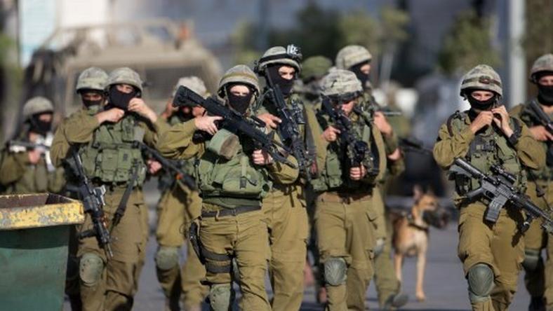 Żołnierze jednostki specjalnej Izraela