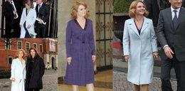 Małgorzata Tusk ma tylko jeden płaszczyk?