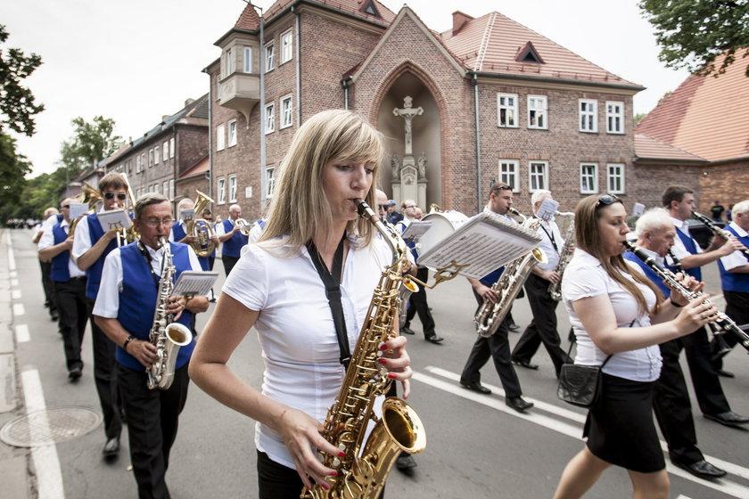 Ruda Śląska. Festiwal Orkiestr Dętych