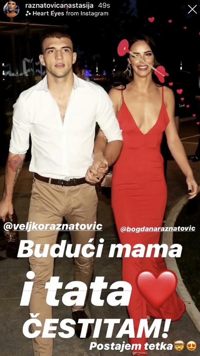 Veljko Ražnatović i Bogdana Rodić