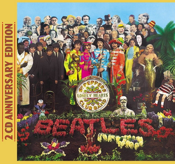 "The Beatles, ""Sgt Peppers Lonley Hearts Club Band"""