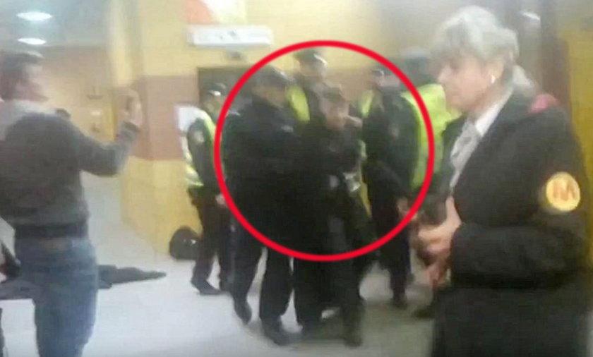 Sylwester Wardęga zatrzymany przez policję