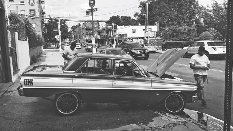 Miłość do aut na Brooklynie