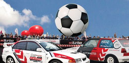 Mecz motofutbolu z Kubą Błaszczykowskim