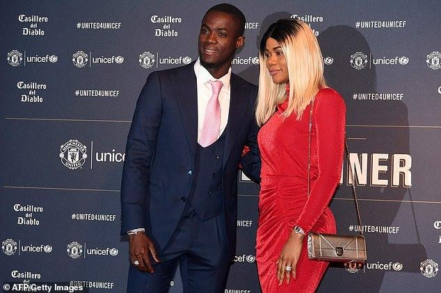 Eric Bailly and wife Vanessa attended the Gala [Getty Images]