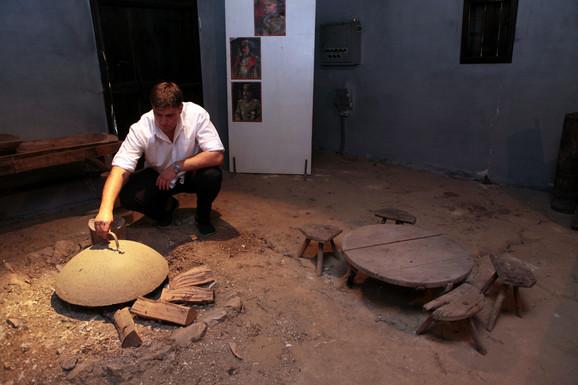 Zemljani pod i sač daju šmek staroj kući