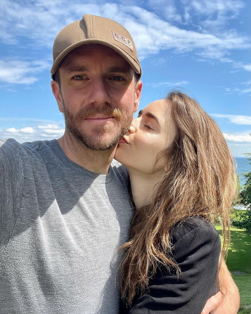 Lily Collins i Charlie McDowell