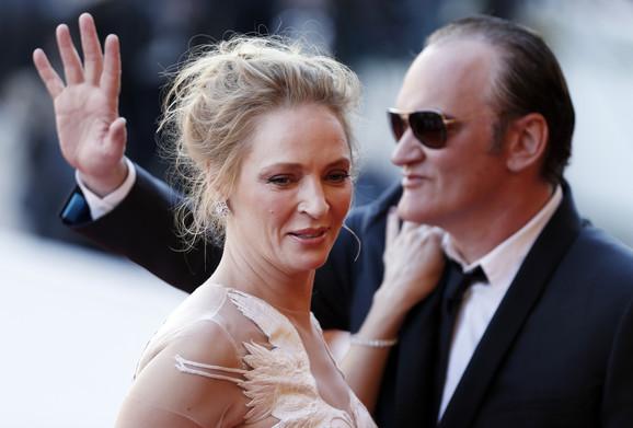Uma Turman i Kventin Tarantino