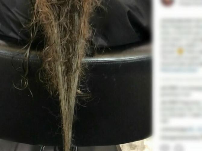 """Pokazala je sliku svoje kose i ŠOKIRALA SVET: """"Nemojte da se čudite, ovo zna SVAKA MAJKA, A O TOME ĆUTI"""""""