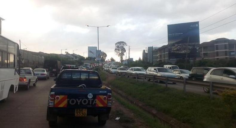 Mbagathi road to be closed for four days