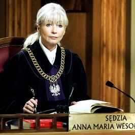 Kiedyś gwiazdy TV, a dziś? Anna Maria Wesołowska, czyli najpopularniejsza sędzia w Polsce