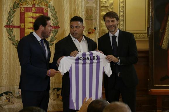 Pravi Ronaldo odnedavno je predsednik Valjadolida
