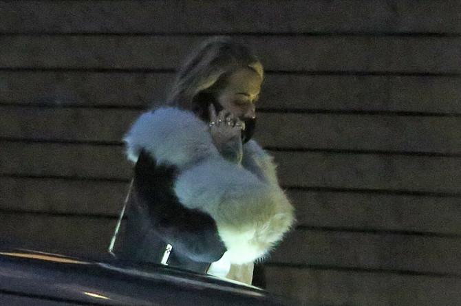 Rita Ora ispred kluba u kojem je slavila