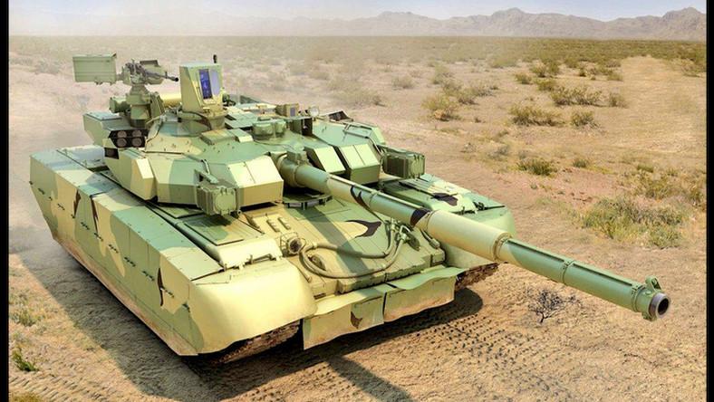 Ukraiński czołg podstawowy waży ok. 51 ton. Jego uzbrojenie stanowi gładkolufowa armata KBA-3, kaem 7,62 mm i zdalnie sterowany KT-12,7 kal. 12,7