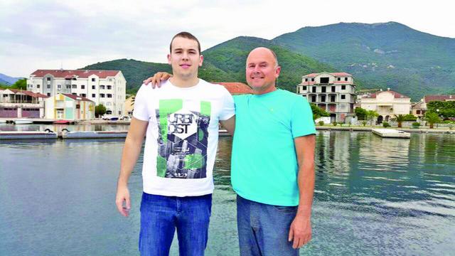 Ponosan na naslednika:Dušan Mandić s ocem Budimirom