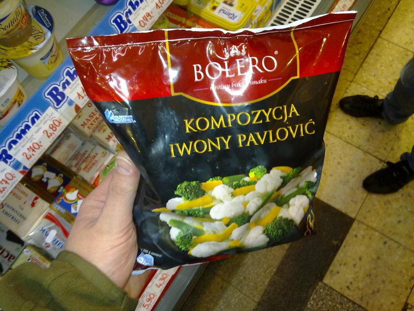 Ivona Pavlovic reklamuje mrożonki