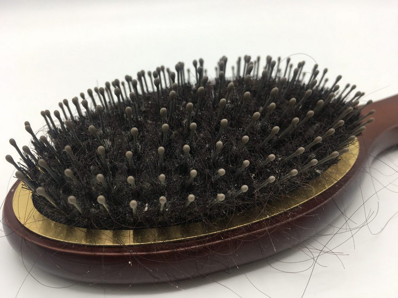 Dirty hair brush(Best Life)