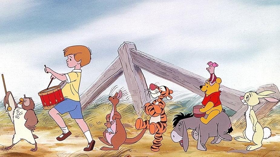 """Kadr z filmu """"Przygody Kubusia Puchatka"""""""