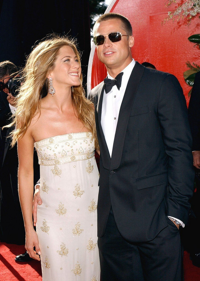Dženifer Aniston i Bred Pit pre 15-ak godina