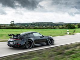 Nowe Porsche 911 GT3 – burza z piorunami
