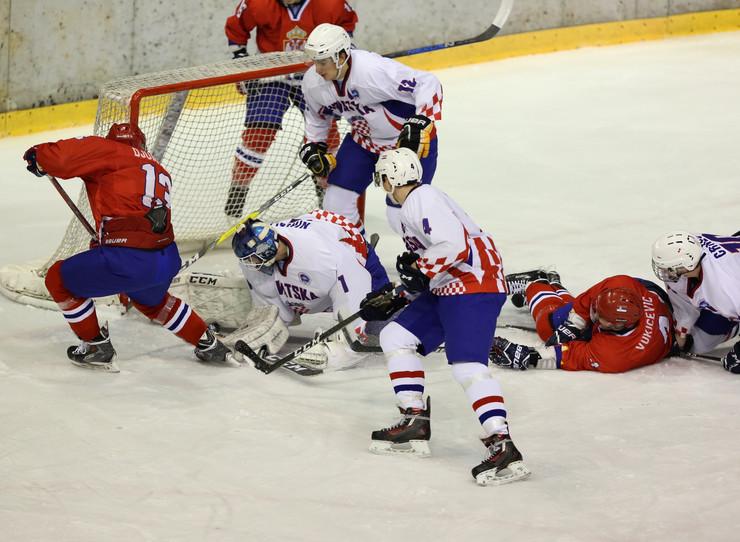 Juniorska hokejaška reprezentacija Srbije, Juniorska hokejaška reprezentacija Hrvatske